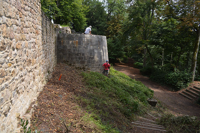 Forteresse Saint-Amand-Montrond avant abandon