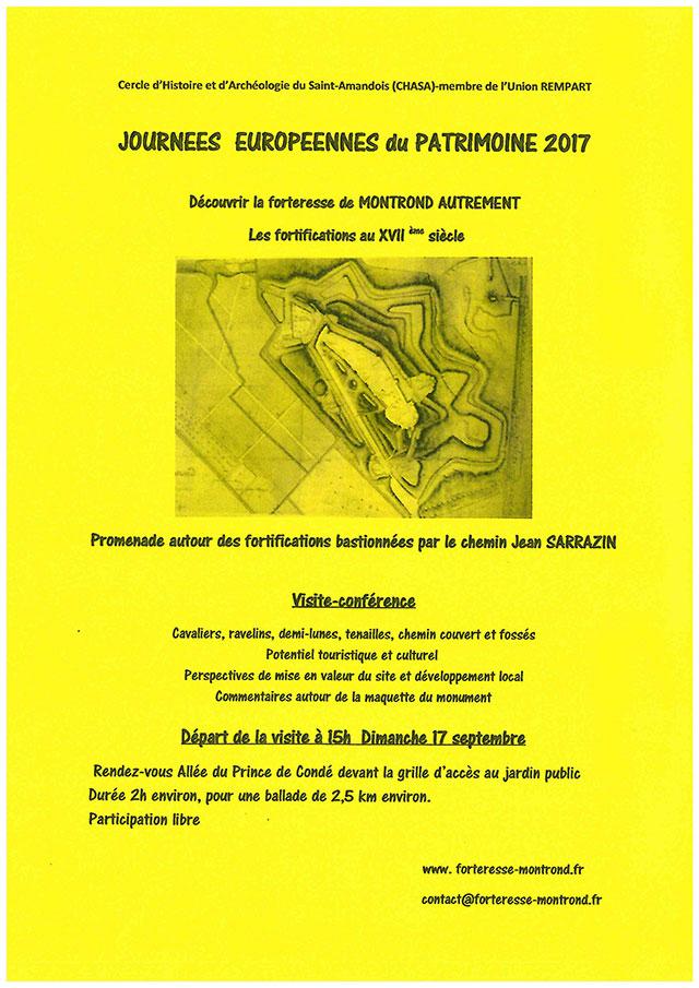 Saint-Amand-Montrond, journées européennes du patrimoine